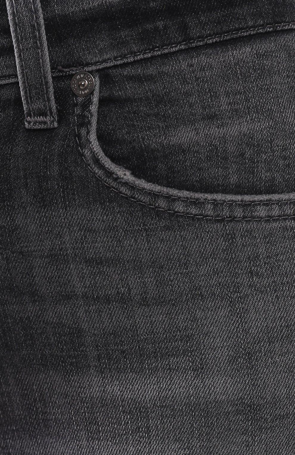 Женские джинсы 7 FOR ALL MANKIND серого цвета, арт. JSVYU790SG | Фото 5