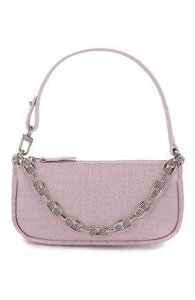 Женская сумка rachel mini BY FAR светло-розового цвета, арт. 20CRMIRAPIDSMA   Фото 1