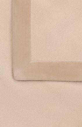 Мужского кашемировый плед LORO PIANA бежевого цвета, арт. FAA1171 | Фото 3