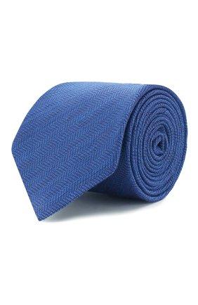 Мужской галстук ETON синего цвета, арт. A000 32478 | Фото 1