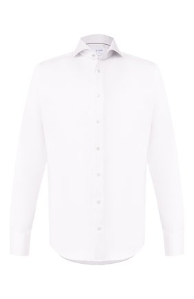 Мужская хлопковая сорочка ETON белого цвета, арт. 1000 01567 | Фото 1