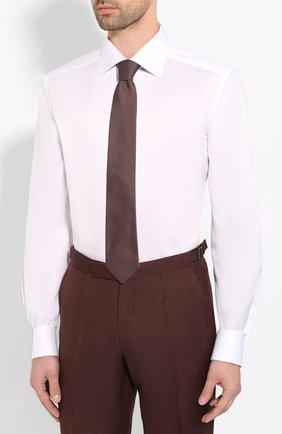 Мужская хлопковая сорочка ETON белого цвета, арт. 1000 01567 | Фото 4