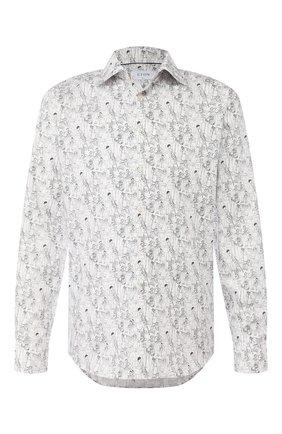 Мужская хлопковая сорочка ETON белого цвета, арт. 1000 01441 | Фото 1
