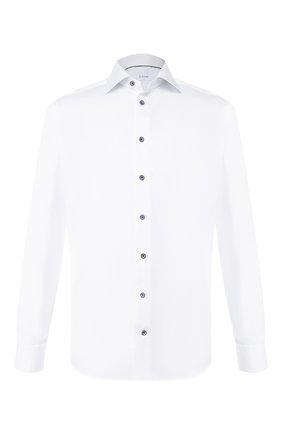 Мужская хлопковая сорочка ETON белого цвета, арт. 1000 01175 | Фото 1
