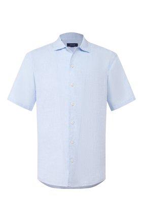 Мужская льняная рубашка ETON голубого цвета, арт. 1000 01160 | Фото 1