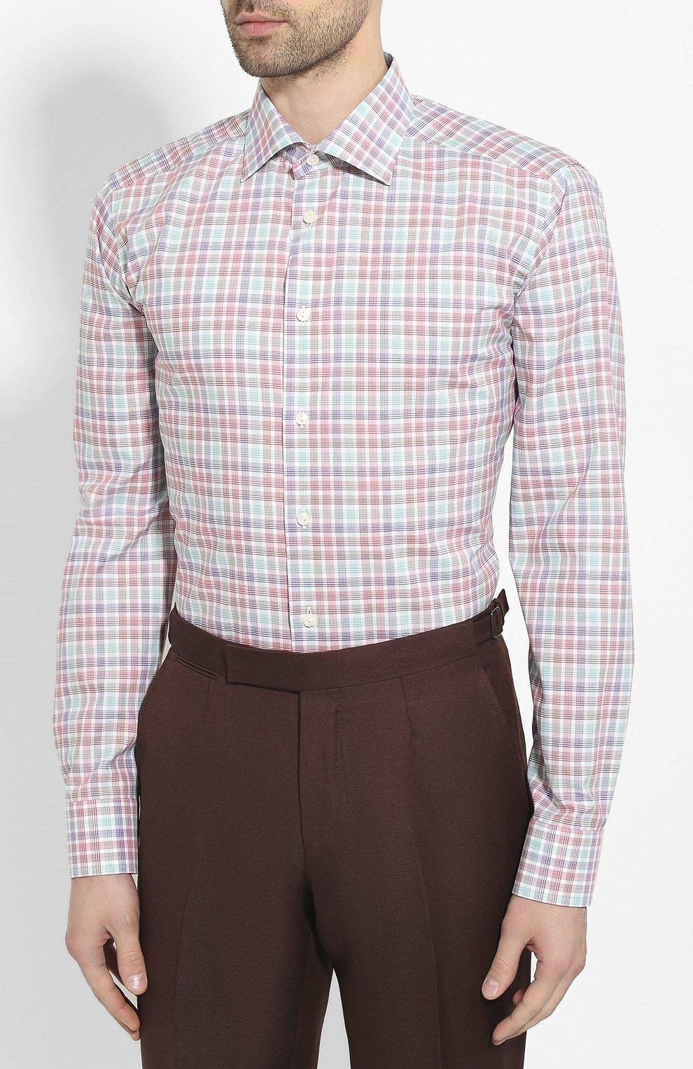 Мужская хлопковая сорочка ETON разноцветного цвета, арт. 1000 00900 | Фото 3