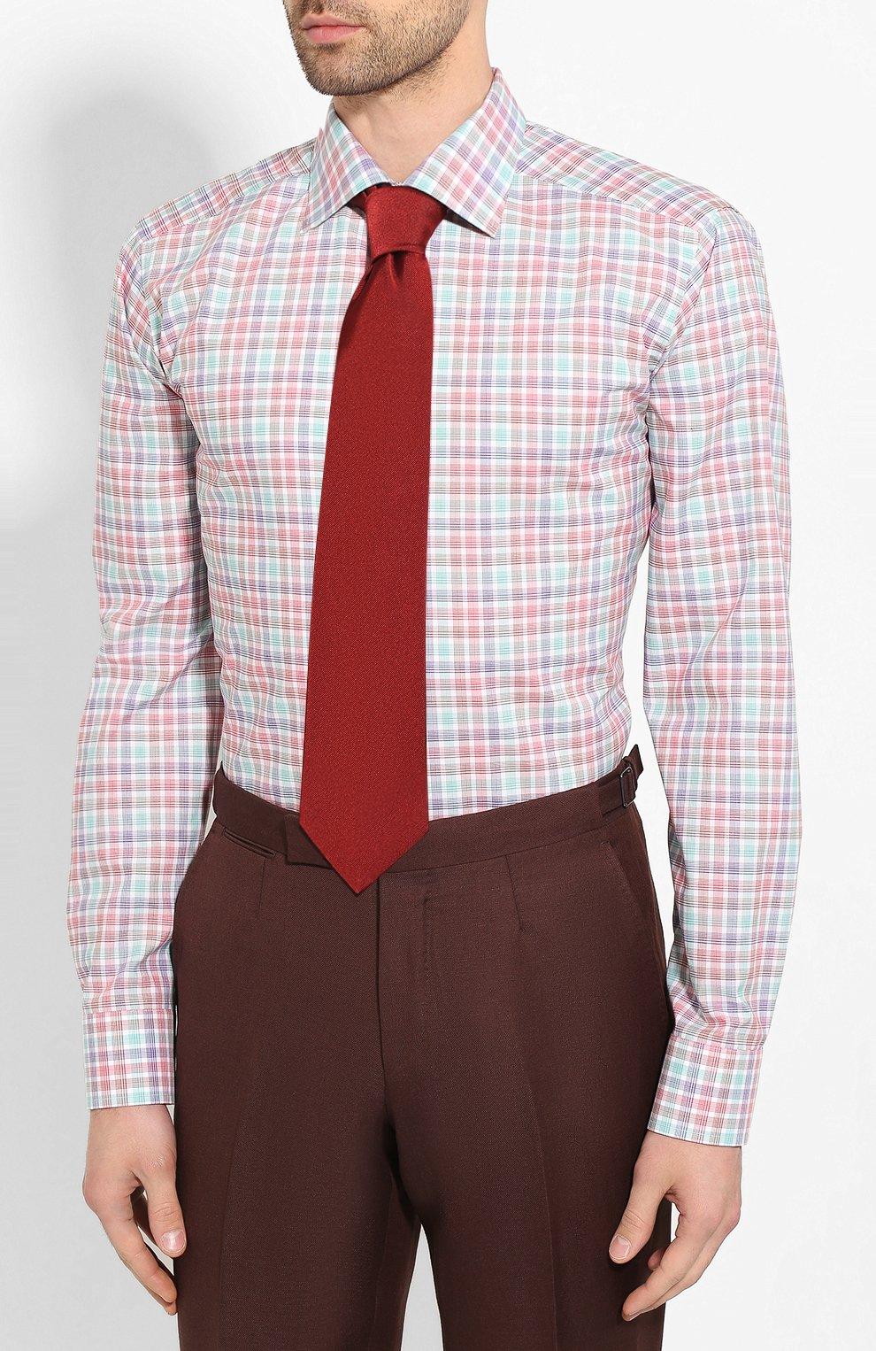 Мужская хлопковая сорочка ETON разноцветного цвета, арт. 1000 00900 | Фото 4