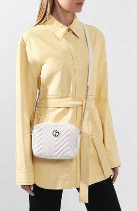 Женская сумка GIORGIO ARMANI белого цвета, арт. Y1B040/YEZ9X | Фото 2