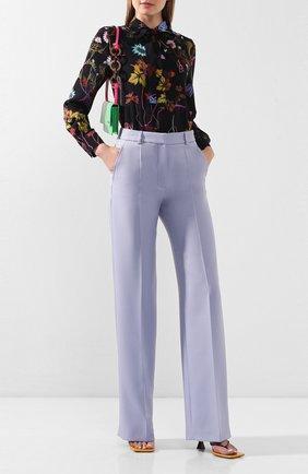 Женские брюки STELLA MCCARTNEY голубого цвета, арт. 600739/S0A36 | Фото 2