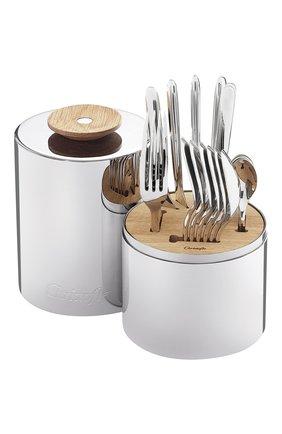 Мужского набор из 24 столовых предметов essentie CHRISTOFLE серебряного цвета, арт. 02406299 | Фото 1