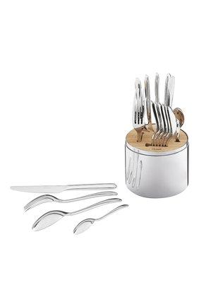 Мужского набор из 24 столовых предметов essentie CHRISTOFLE серебряного цвета, арт. 02406299 | Фото 2