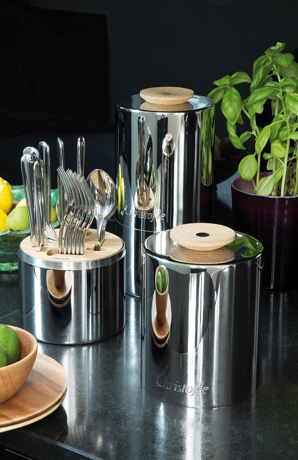 Мужского набор из 24 столовых предметов essentie CHRISTOFLE серебряного цвета, арт. 02406299 | Фото 5