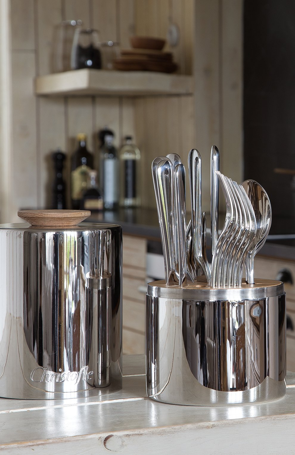 Мужского набор из 24 столовых предметов essentie CHRISTOFLE серебряного цвета, арт. 02406299 | Фото 6