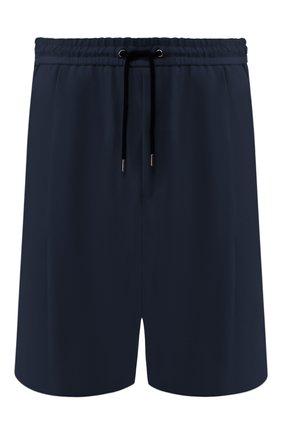 Мужские хлопковые шорты GIORGIO ARMANI темно-синего цвета, арт. 9SGPB003/T01MP | Фото 1