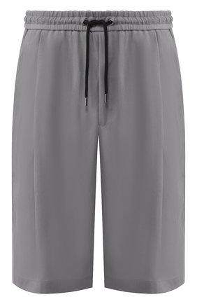 Мужские шорты GIORGIO ARMANI серого цвета, арт. 9SGPB003/T00AB | Фото 1
