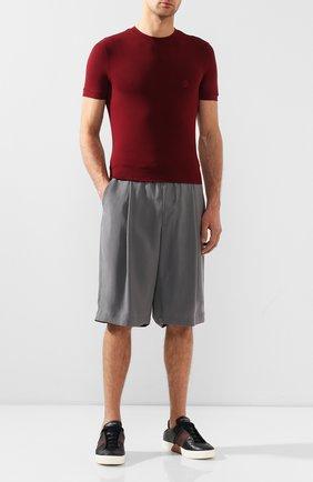 Мужские шорты GIORGIO ARMANI серого цвета, арт. 9SGPB003/T00AB | Фото 2