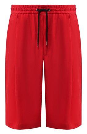 Мужские шорты GIORGIO ARMANI красного цвета, арт. 9SGPB003/T00AB | Фото 1