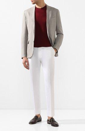 Мужские кожаные лоферы BOTTEGA VENETA темно-коричневого цвета, арт. 620301/VBSH0 | Фото 2