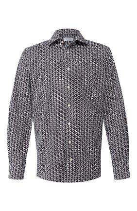 Мужская хлопковая сорочка ETON серого цвета, арт. 1000 01360 | Фото 1