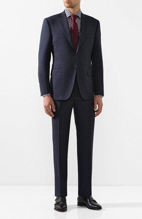 Мужская хлопковая сорочка ETON серого цвета, арт. 1000 01360 | Фото 2