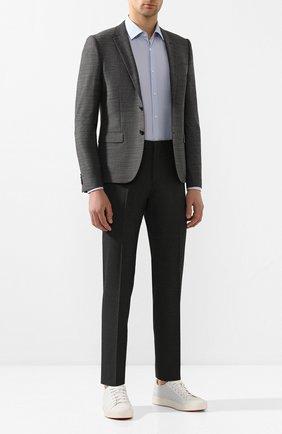 Мужской пиджак HUGO темно-серого цвета, арт. 50435009 | Фото 2