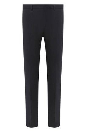 Мужской шерстяные брюки BOSS синего цвета, арт. 50432928 | Фото 1