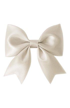 Детская заколка-зажим bowtie bow MILLEDEUX бежевого цвета, арт. 818-SC-13 | Фото 1
