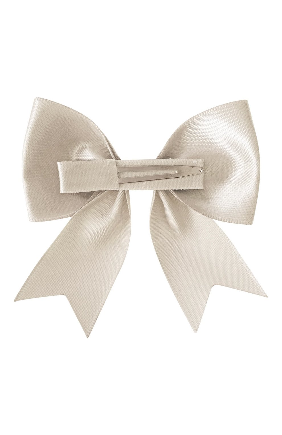 Детская заколка-зажим bowtie bow MILLEDEUX бежевого цвета, арт. 818-SC-13 | Фото 2