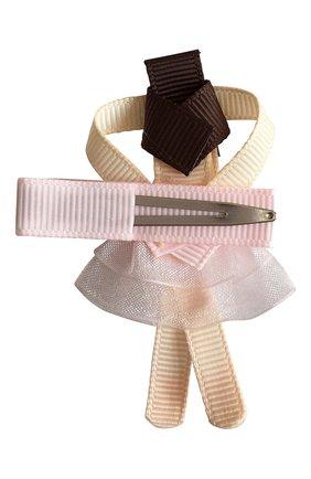 Детская заколка-зажим MILLEDEUX светло-розового цвета, арт. 115-BC-01 | Фото 2
