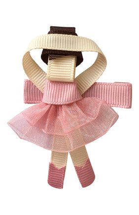 Детская заколка-зажим MILLEDEUX розового цвета, арт. 158-BC-01 | Фото 1
