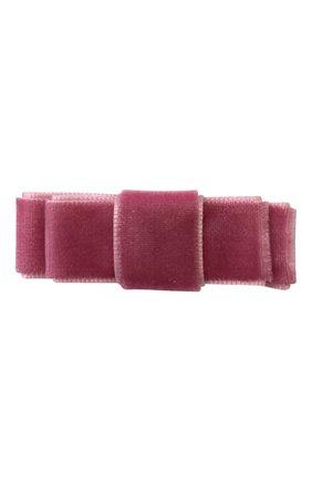 Детская заколка-зажим MILLEDEUX розового цвета, арт. 174-VC-02 | Фото 1