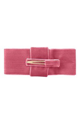 Детская заколка-зажим MILLEDEUX розового цвета, арт. 182-VC-04 | Фото 2