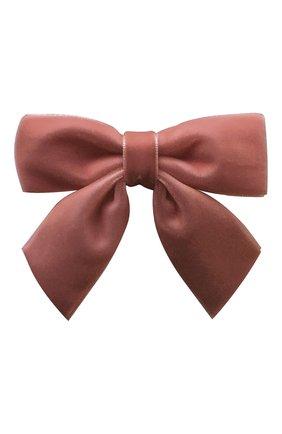 Детская заколка-зажим MILLEDEUX розового цвета, арт. 158-VC-09 | Фото 1