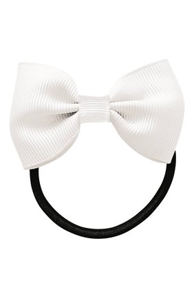Детская резинка bowtie bow MILLEDEUX белого цвета, арт. 029-CGC-05 | Фото 1