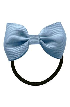 Детская резинка bowtie bow MILLEDEUX голубого цвета, арт. 307-CGC-05 | Фото 1