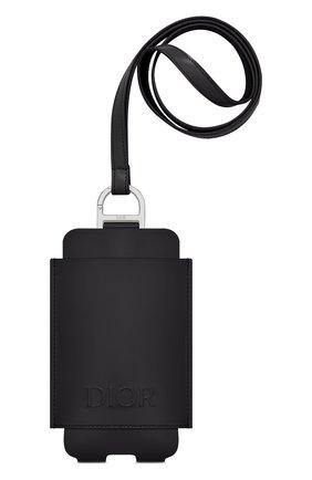 Мужского кожаный чехол для iphone DIOR черного цвета, арт. 2DTCA284YUWH00N | Фото 1