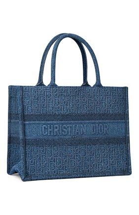 Женская сумка-тоут dior book DIOR синего цвета, арт. M1296ZWALM928 | Фото 2
