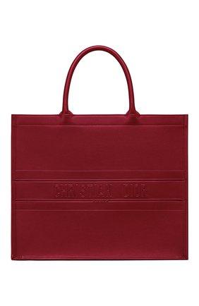 Женская сумка-тоут dior book DIOR бордового цвета, арт. M1286ZGSBM52R | Фото 1
