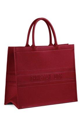 Женская сумка-тоут dior book DIOR бордового цвета, арт. M1286ZGSBM52R | Фото 2