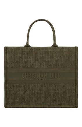 Женская сумка-тоут dior book DIOR зеленого цвета, арт. M1286ZWAFM042 | Фото 1