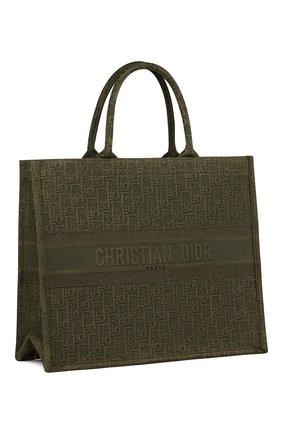 Женская сумка-тоут dior book DIOR зеленого цвета, арт. M1286ZWAFM042 | Фото 2