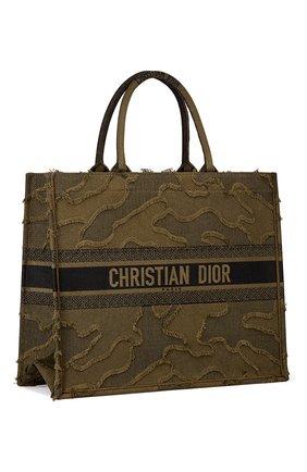 Женская сумка-тоут dior book  DIOR зеленого цвета, арт. M1286ZWAHM042 | Фото 2