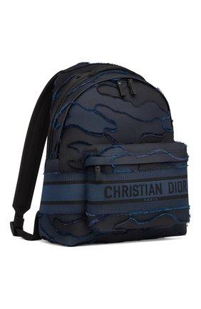 Женский рюкзак diortravel camouflage DIOR синего цвета, арт. M6104SRMOM928 | Фото 1