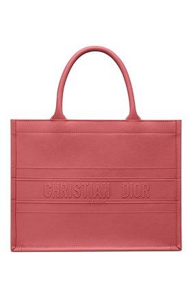 Женская сумка-тоут dior book small DIOR розового цвета, арт. M1296ZGSBM59P | Фото 1