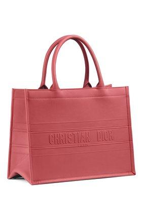 Женская сумка-тоут dior book small DIOR розового цвета, арт. M1296ZGSBM59P | Фото 2