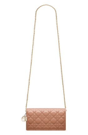 Женский клатч lady dior DIOR розового цвета, арт. S0204OVRBM49P | Фото 1