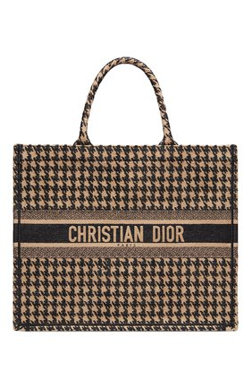 Женская сумка-тоут dior book DIOR черного цвета, арт. M1286ZRFPM976 | Фото 1