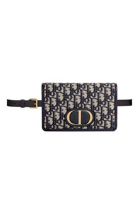 Женская поясная сумка 30 montaigne DIOR синего цвета, арт. S2086UTZQM928   Фото 1