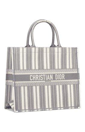 Женская сумка-тоут dior book diorivierа DIOR серого цвета, арт. M1286ZRISM932 | Фото 2