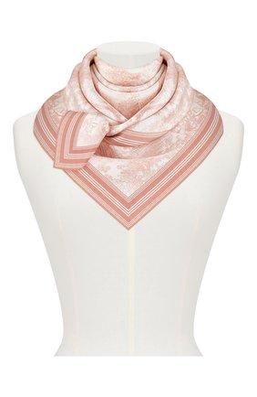 Женский шелковый платок dioriviera toile de jouy DIOR розового цвета, арт. 91JOU090I601C418 | Фото 2